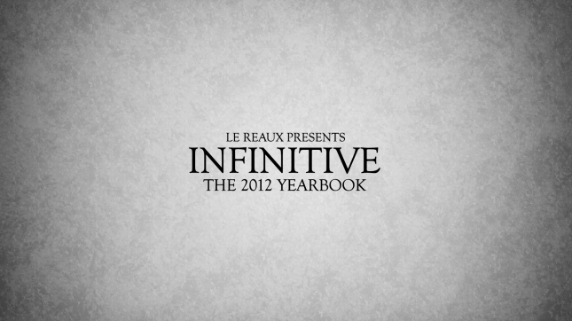 Infinitive Yearbook
