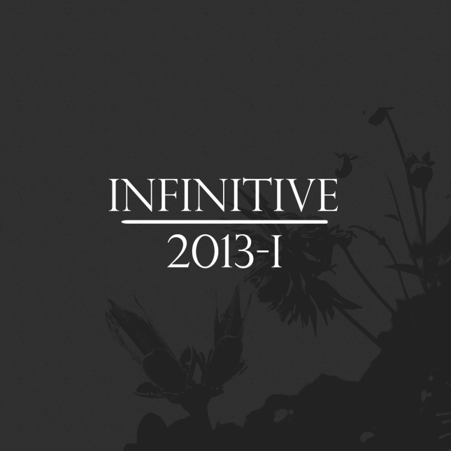 Infinitive 2013.001 - Cover